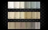 collezione pandora 60 colori tavola cromatica 1