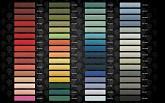 collezione pique incantus 102 colori tavola cromatica 2